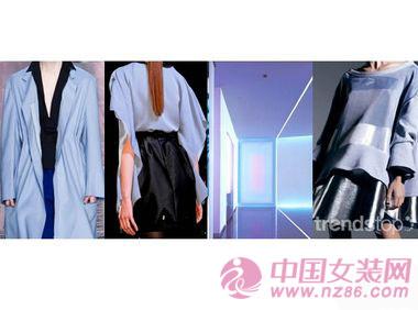 2014/15秋冬女装色彩趋势:蓝色炫舞(图2)