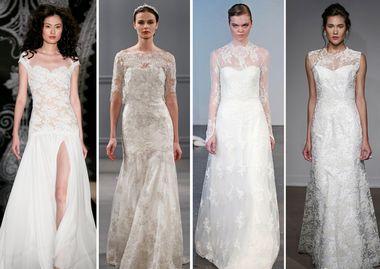 2014春夏婚纱流行的六个要点(图1)