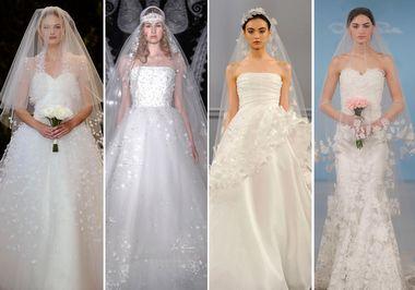 2014春夏婚纱流行的六个要点(图4)