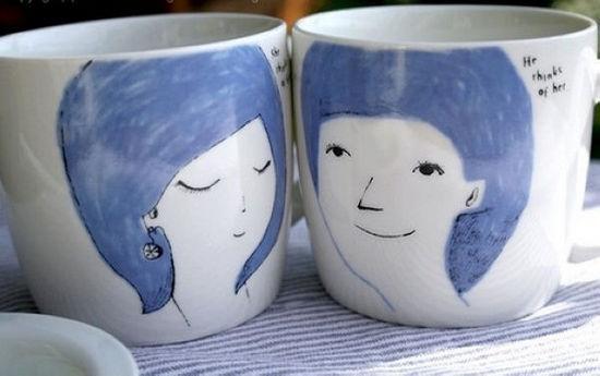烂漫情侣杯