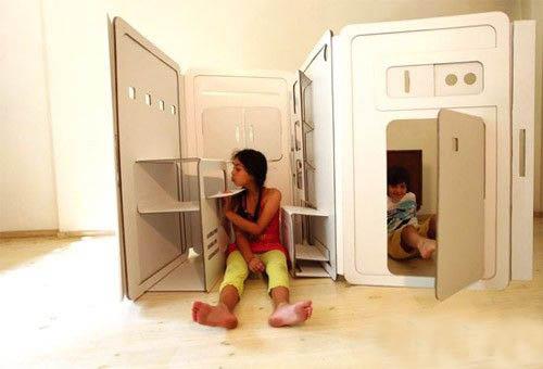Futuristic furniture design: Fold your home like magic