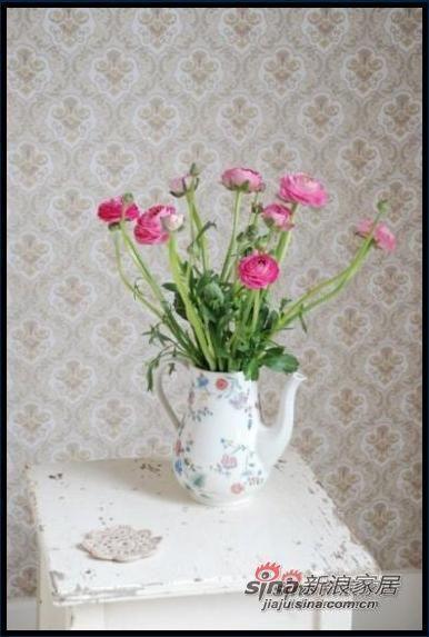 69平米白粉双色纯美幸福 异国风情之家(组图)