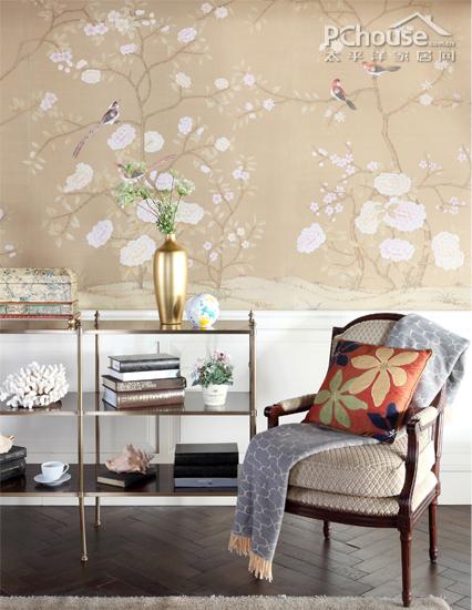 Wallpaper visual enlargement