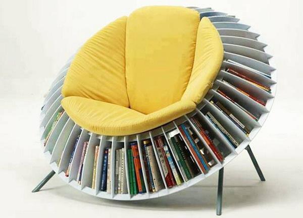 Sunflower chair 1 创意葵椅 书虫首选家具