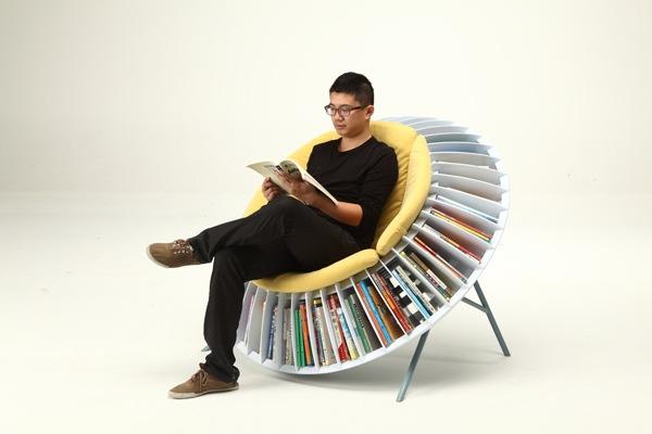 Sunflower chair 2 创意葵椅 书虫首选家具