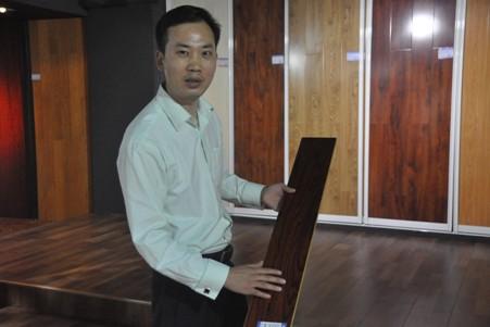 圣玛特地板总经理张波对地板行业有着独到的理解