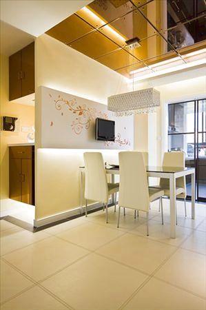 120平米户型客厅装修图 省钱装修案例