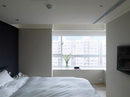 Let the apartment be fashionable. Neutral color matching is different.