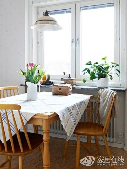 Nordic style has a classic home, giving you a sense of crossing the ancient times.