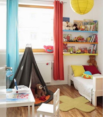 Small apartment home children's room decoration case diagram