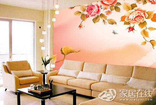 TV background wall renderings
