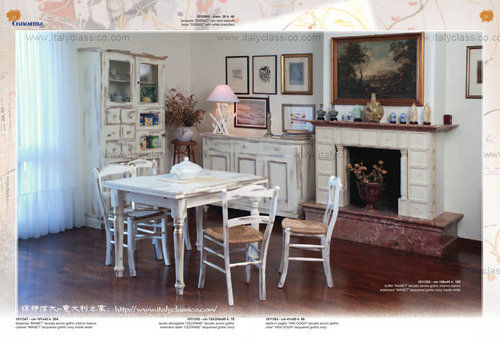 Country retro feelings Castagnetti art style furniture