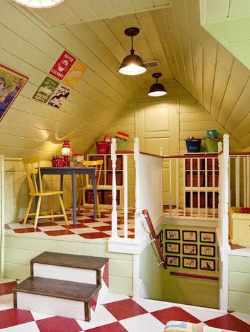 阁楼改造办法,小面积阁楼扩大空间,阁楼装修案例,不规则阁楼利用,阁楼零碎空间