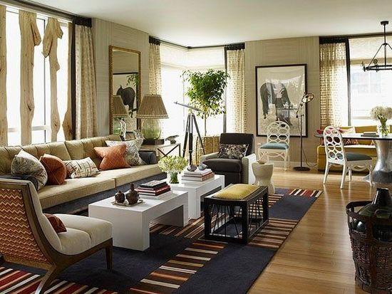 New York fashion and environmentally friendly Riverhouse apartment design!
