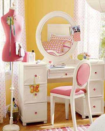 Dressing table feng shui