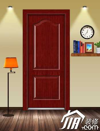 The quality of wooden doors is mixed.