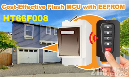 Cost-Effective Flash MCU with EEPROM HT66F008.jpg