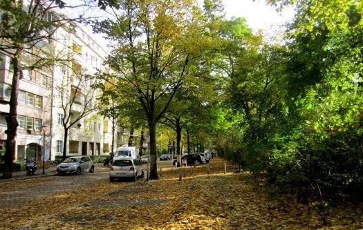 A green urban community in Berlin (Photo courtesy of La Citta Vita, Creative Commons)