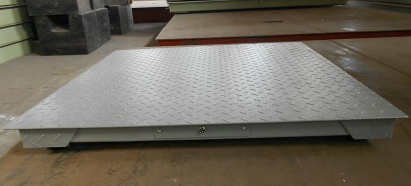 Single 3 ton small floor scale