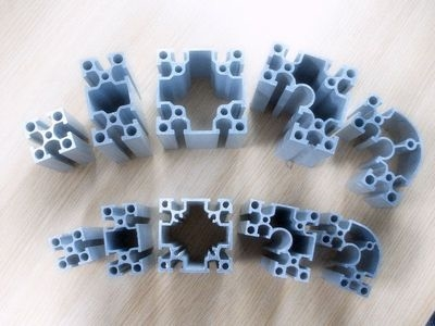 Why is it difficult to form an oxide film in and around the holes of aluminum oxide parts?