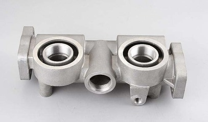 How is the removal temperature of the aluminum casting crystals?