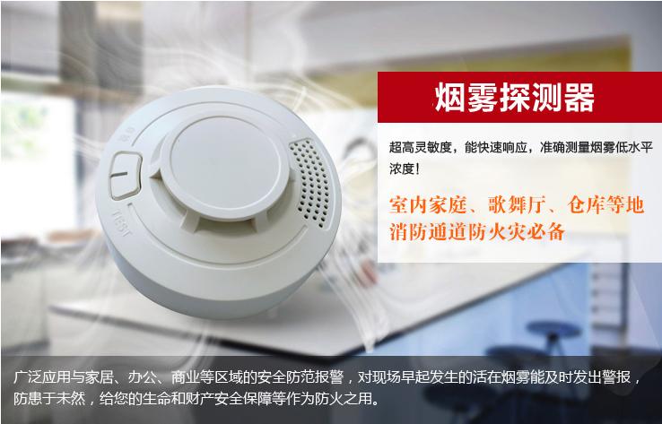 LoRa wireless smoke alarm system