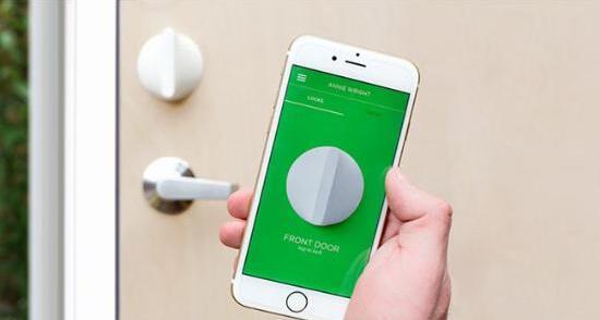 Smart door lock mobile phone unlock