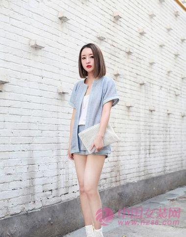 2013春夏大受欢迎的小香风短裤套装(图2)