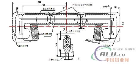 绿色建筑铝合金模板型材模具设计与制造研究