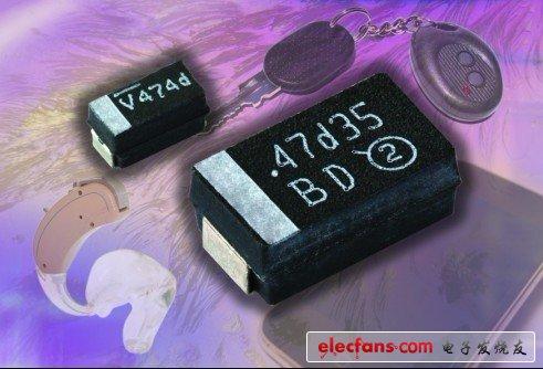 Chip tantalum capacitor TL3