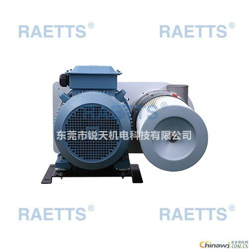 How does the Reitz high-speed fan cool?