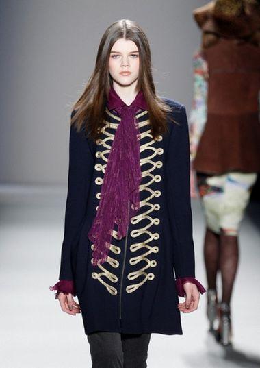 2012秋冬纽约时装周流行风格趋势总结(图2)