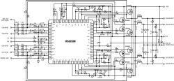 High performance 4-channel Class D audio amplifier design