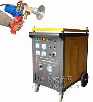 Zinc spraying machine