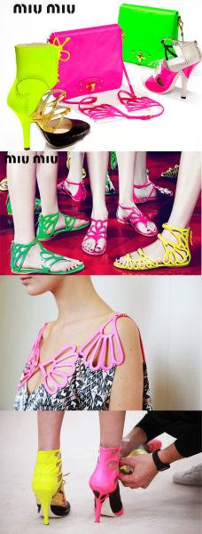 2011年夏季流行色彩 荧光色冲击色彩舞台 (图3)