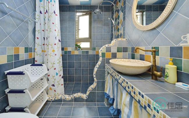 装修浴室的过程中