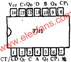 T211 2-5-10 hex pre-settable application circuit diagram