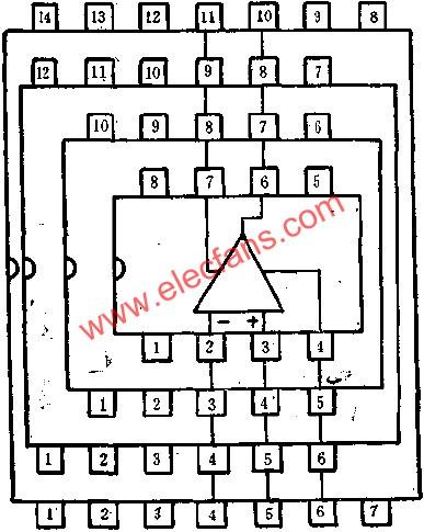 Pin arrangement diagram