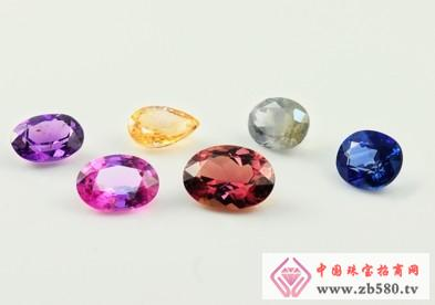 Colored sapphire