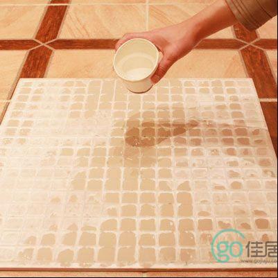 测试卫生间瓷砖是否吸水
