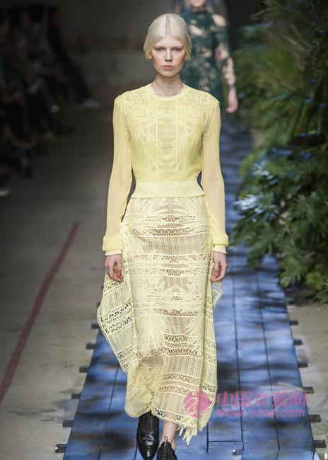 2015春夏女装趋势:时尚蕾丝(图1)