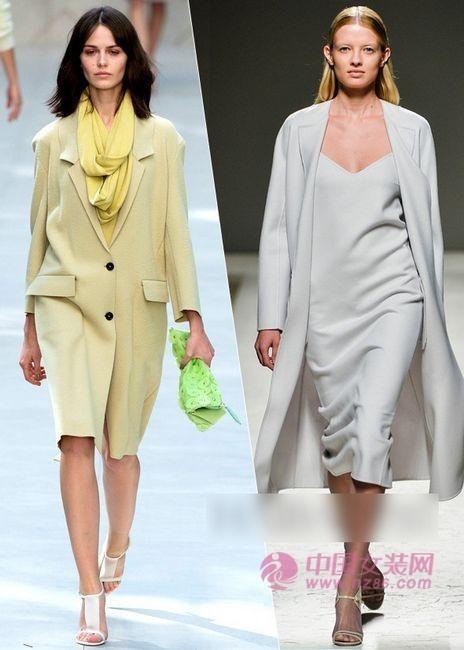 2014春夏流行Spring Coats打造早春美人(图1)