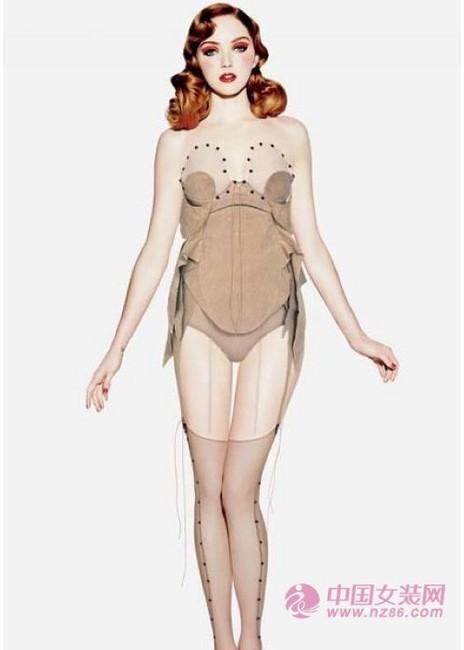 2013内衣流行趋势 新时代性感女郎(图1)