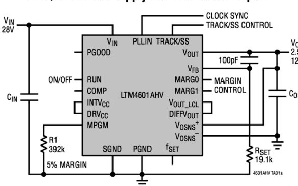 Complete μModule product series, power supply, interface and signal link ...