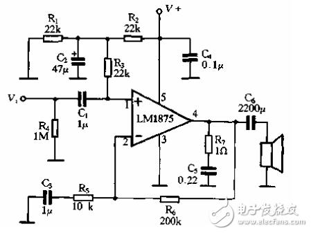 The simplest 12v power amplifier circuit diagram (four kinds of power amplifier circuit diagrams in detail)
