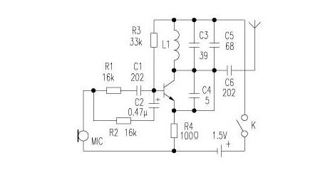 1.5v battery wireless microphone production (six wireless microphone circuit diagram production ...