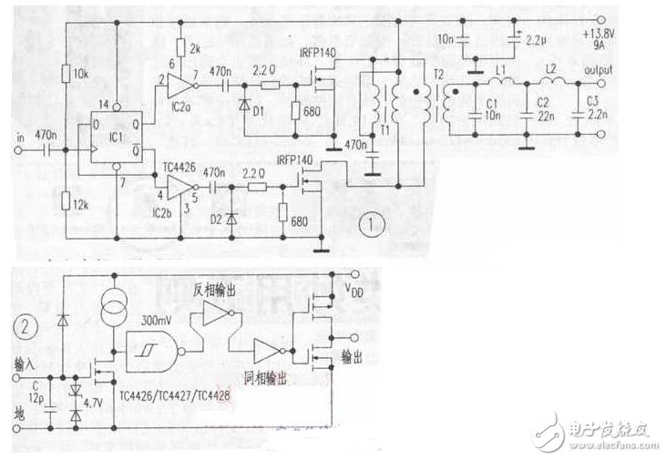 Simple 100w power amplifier circuit diagram (eight 100w power amplifier circuit diagrams)