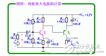 How to calculate the voltage amplification of the amplifier circuit (single-stage and multi-stage)