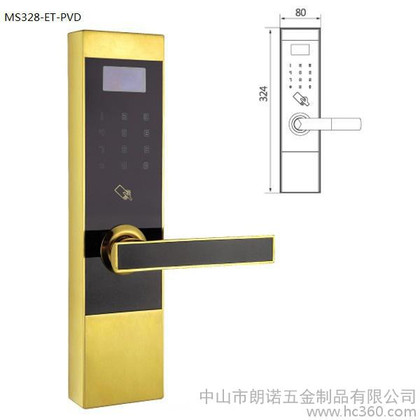 IC card lock Office lock Hotel lock 304 stainless steel smart lock Induction password lock Electronic lock