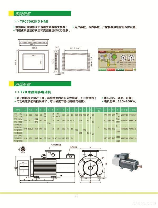 EMS500 screw air pressure Multiple safety warnings Comprehensive maintenance